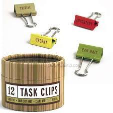 categorized task